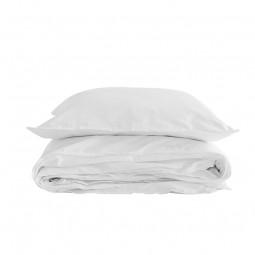 Semibasic Sengetøj Hvid 140x220 cm-20