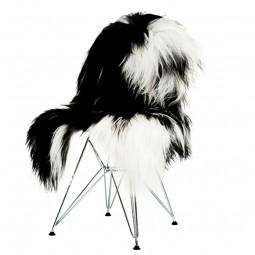 The Organic Sheep Islandske lammeskind Plettet Sort/Hvid-20
