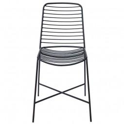 Trademark Living Stilren Stol Sort-20