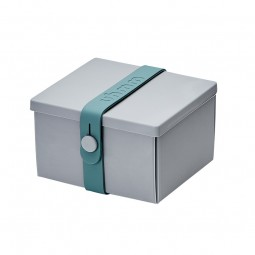 UhmmBoxNo02LightGreyBoxPetrolStrap10x12cm-20