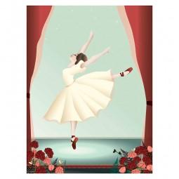 ViSSEVASSE Children Plakat Ballerina-20