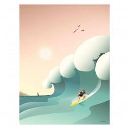 ViSSEVASSE Go Baby Plakat Surfer-20