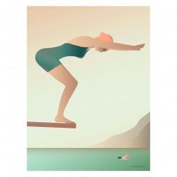 ViSSEVASSE Go Baby Plakat The Swimmer-20