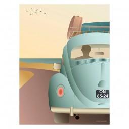 ViSSEVASSE Go Baby Plakat VW Beetle-20