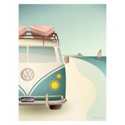 ViSSEVASSE Go Baby Plakat VW Camper-20