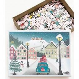 ViSSEVASSE Puslespil Let It Snow-20