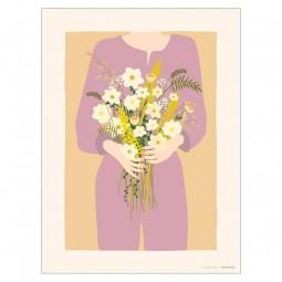 ViSSEVASSE Minimalist Plakat Garden Girl-20