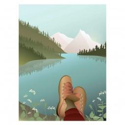 ViSSEVASSE Serenity Plakat After The Hike-20