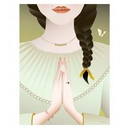 ViSSEVASSE Serenity Plakat Namaste-20