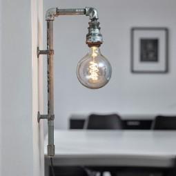 WallPipe Væglampe Grå 2 Stk.-20