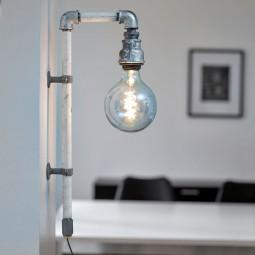 WallPipe Væglampe Hvid 2 stk.-20