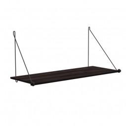 We Do Wood Hylde Loop Shelf Dark Bambus/Sort Stål-20