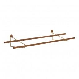 We Do Wood Skostativ Shoe Rack Eg/Messing-20