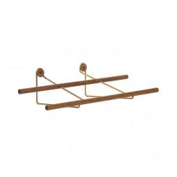 We Do Wood Skostativ Shoe Rack Mini Eg/Messing-20