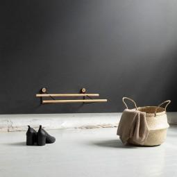 We Do Wood Skostativ Shoe Rack Mini Eg/Sort-20