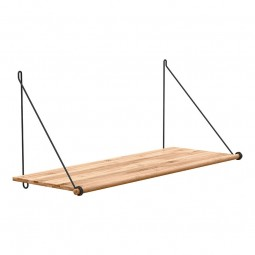 We Do Wood Hylde Loop Shelf Natur/ Sort-20