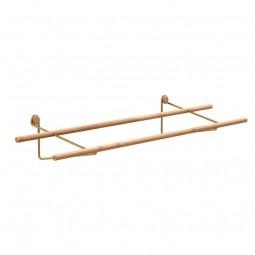 We Do Wood Skostativ Shoe Rack Bambus Natur/Messing-20