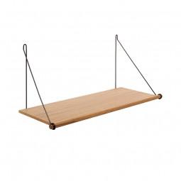 We Do Wood Hylde Loop Shelf Eg/Sort-20
