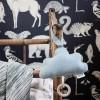 Ferm Living Tapet Katie Scott Animals Mørkeblå-01