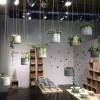 Anne Black Grow Hanging Urtepotte Medium Concrete-01