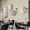 Muuto Spejl Framed Mirror Small Taupe/Taupe-01