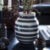 Kähler Omaggio Vase H200 Granitgrå-01