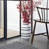 Kähler Omaggio Vase H305 Granitgrå-01