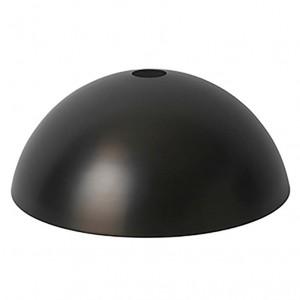 Ferm Living Lampeskærm - Dome Shade - Sort Messing