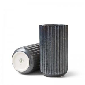 Lyngby Radiance Vase - Fajance 15 cm - Blå