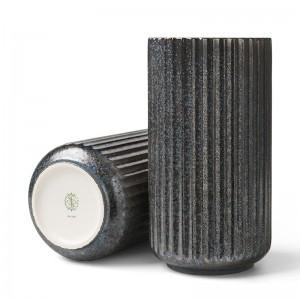 Lyngby Radiance Vase - Fajance 20,5 cm - Blå