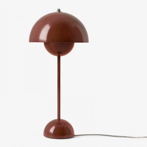 &tradition Flowerpot bordlampe VP3 - Red Brown