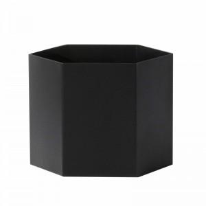 Ferm Living Hexagon Potte XLarge - Sort