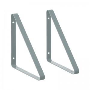 Ferm Living Metal Shelf Hangers - Hyldeknægte i Støvet Blå