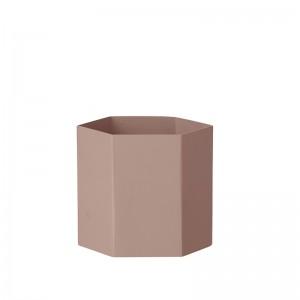 Ferm Living Hexagon Potte Large - Rosa