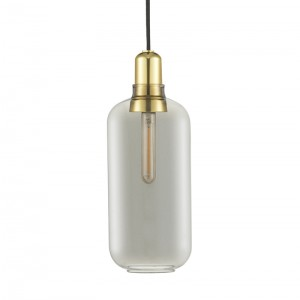 Normann Copenhagen Amp lampe Smoke/Brass - Large