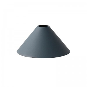 Ferm Living Lampeskærm - Cone Shade - Mørkeblå