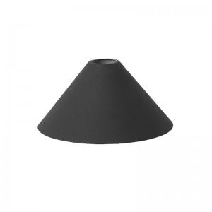 Ferm Living Lampeskærm - Cone Shade - Sort
