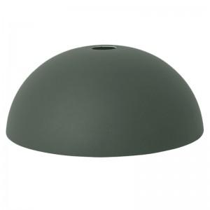 Ferm Living Lampeskærm - Dome Shade - Mørkegrøn