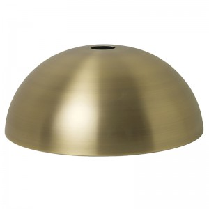 Ferm Living Lampeskærm - Dome Shade - Messing