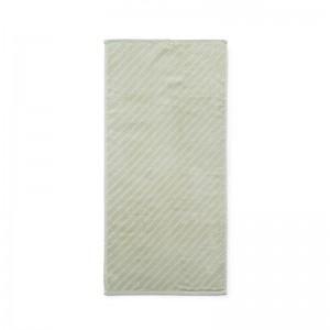 Normann Copenhagen Håndklæde - Imprint - Slash Pistacie - 50x100 cm