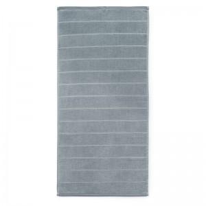 Normann Copenhagen Badehåndklæde - Imprint - Stripe Grå - 70x140 cm