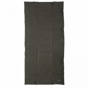 Ferm Living Badehåndklæde 70 x 140 cm - Mørk grå