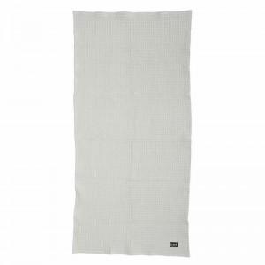Ferm Living Badehåndklæde 70 x 140 cm - Lysegrå - 2. sortering