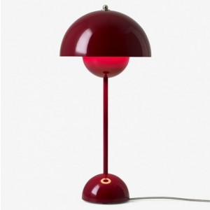 &tradition Flowerpot bordlampe VP3 - Deep Red