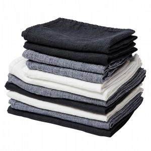 By Nord hørhåndklæde 130 x 100 cm - Hvid