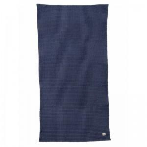 Ferm Living Badehåndklæde 70 x 140 cm - Mørkeblå