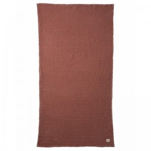 Ferm Living Badehåndklæde 70 x 140 cm - Rust