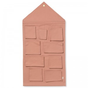 Ferm Living House Wall Storage - Dusty Rose