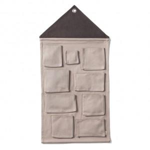 Ferm Living House Wall Storage - Grå
