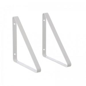 Ferm Living Metal Shelf Hangers - Hyldeknægte i Hvid